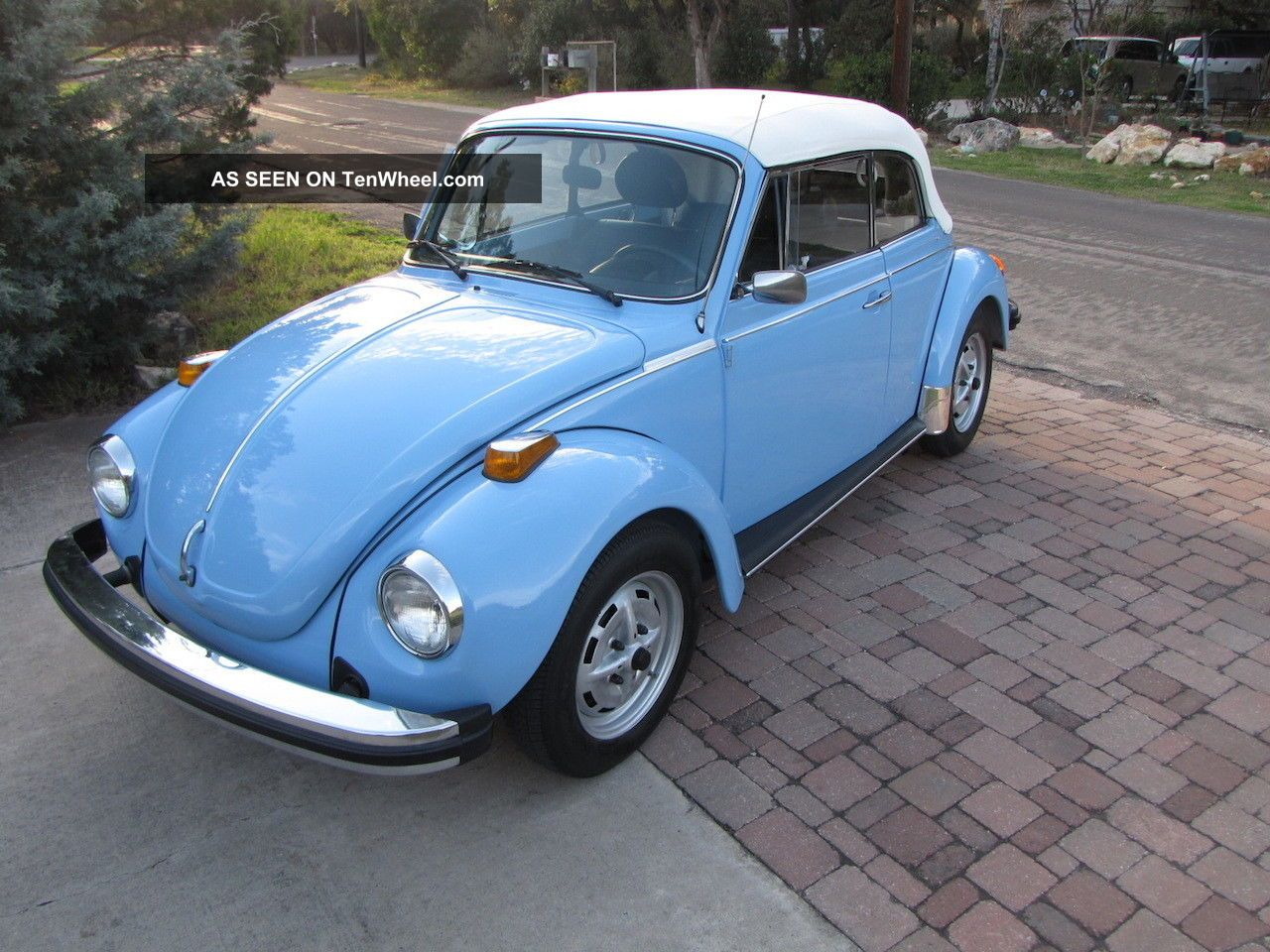 1979 Vw Beetle Convertible Cabrio Karmann Classic Bug - Show Quality Beetle - Classic photo