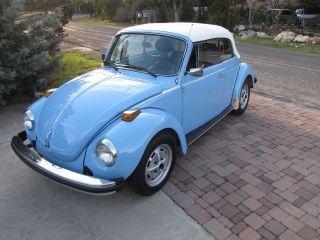 1979 Vw Beetle Convertible Cabrio Karmann Classic Bug - Show Quality photo