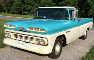 1960 Chevrolet Truck Base 3.  8l photo