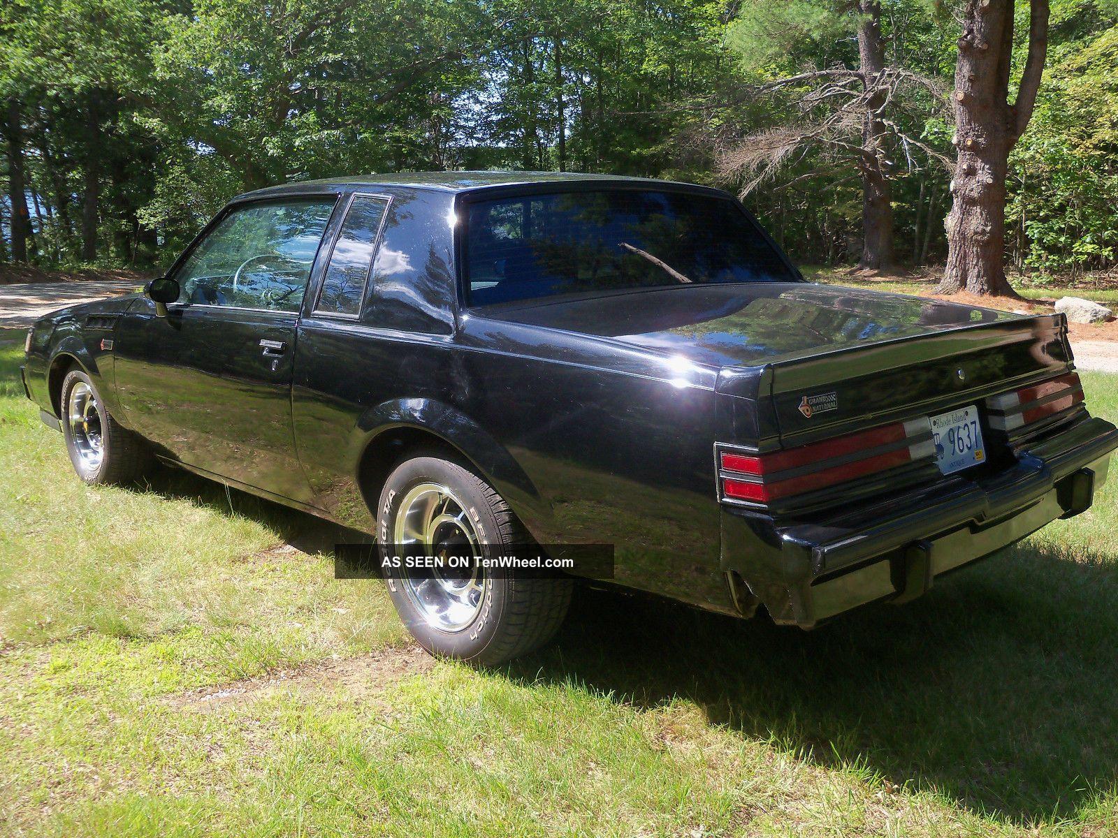 1987 buick grand national 3 8 turbo interior wheels posi - 1987 buick grand national interior ...