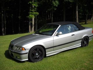 1998 Bmw M3 Base Convertible 2 - Door 3.  2l photo
