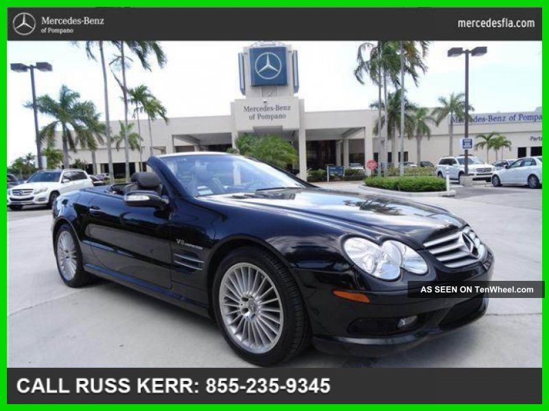 2004 Sl55 Amg® 5.  4l V8 24v Automatic Rear Wheel Drive Convertible Premium SL-Class photo