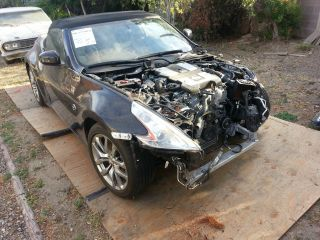 2012 Nissan 370z Base Convertible 2 - Door 3.  7l photo