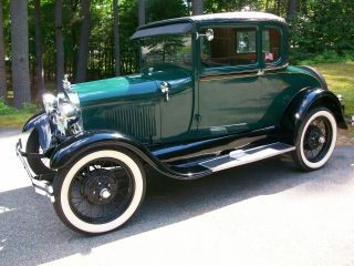 1929 Ford Model A Coupe photo