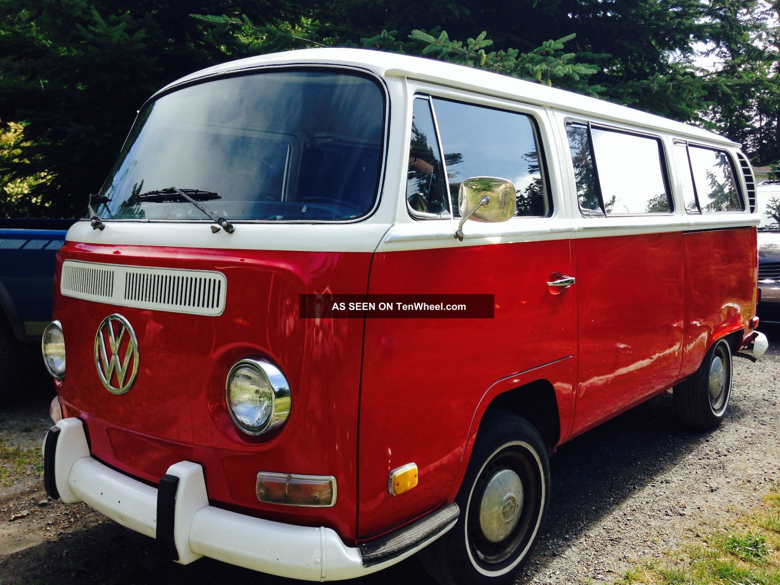 1971 Vw Bus,  Type 2 Transporter,  Seats 9 Cherry Picked,  Rare Find, Bus/Vanagon photo