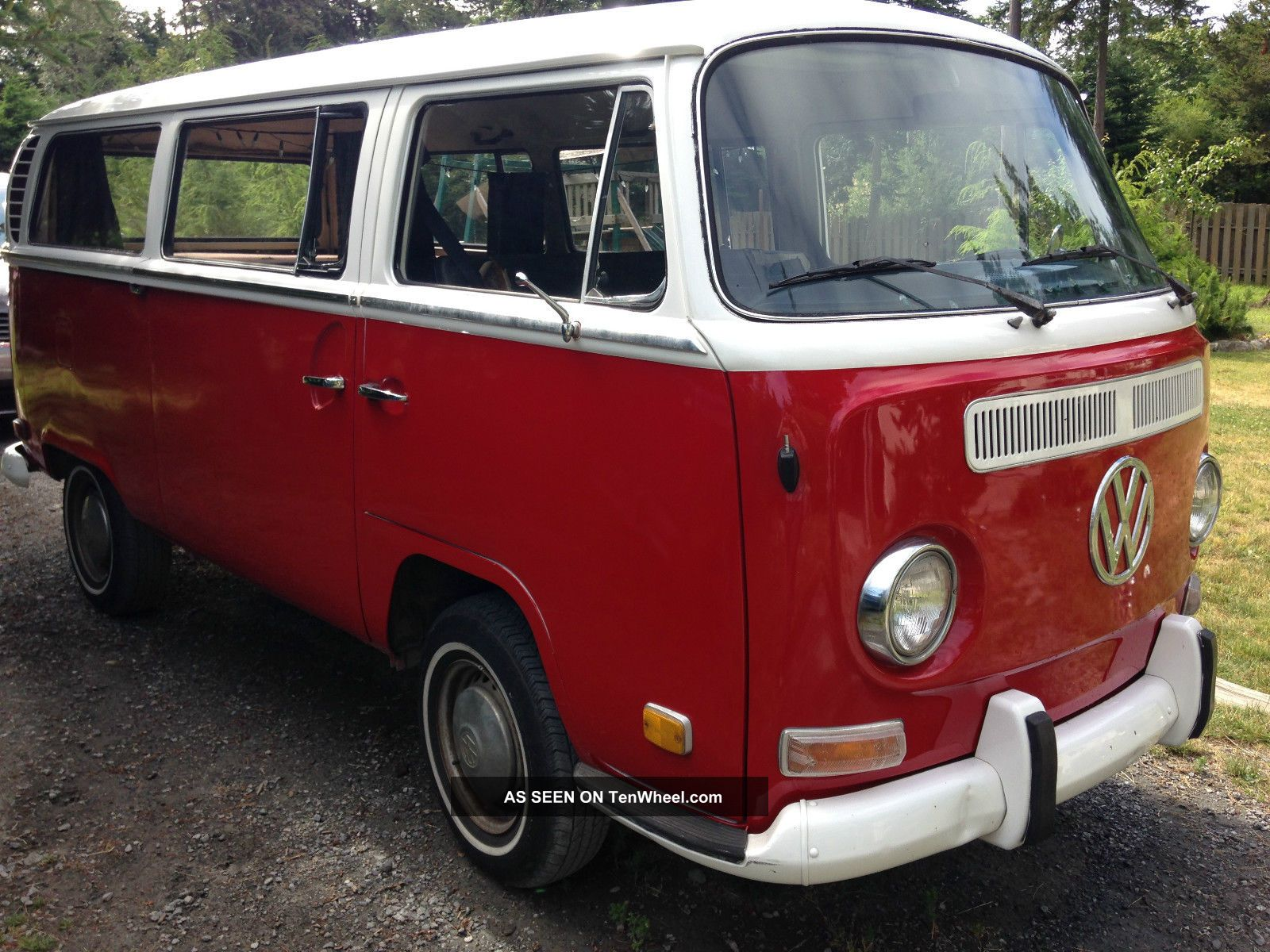 1971 vw bus type 2 transporter seats 9 cherry picked rare find. Black Bedroom Furniture Sets. Home Design Ideas