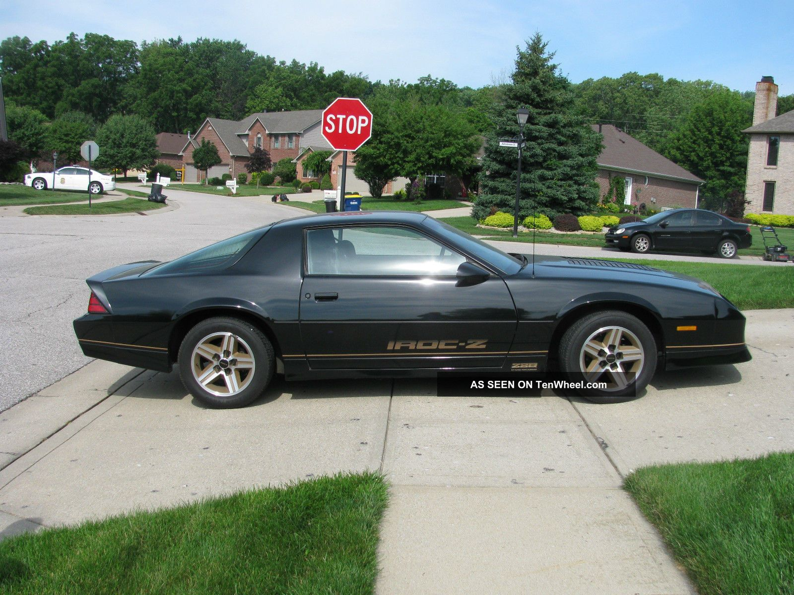 1987 chevrolet camaro iroc z28 5 7 sports coupe. Black Bedroom Furniture Sets. Home Design Ideas