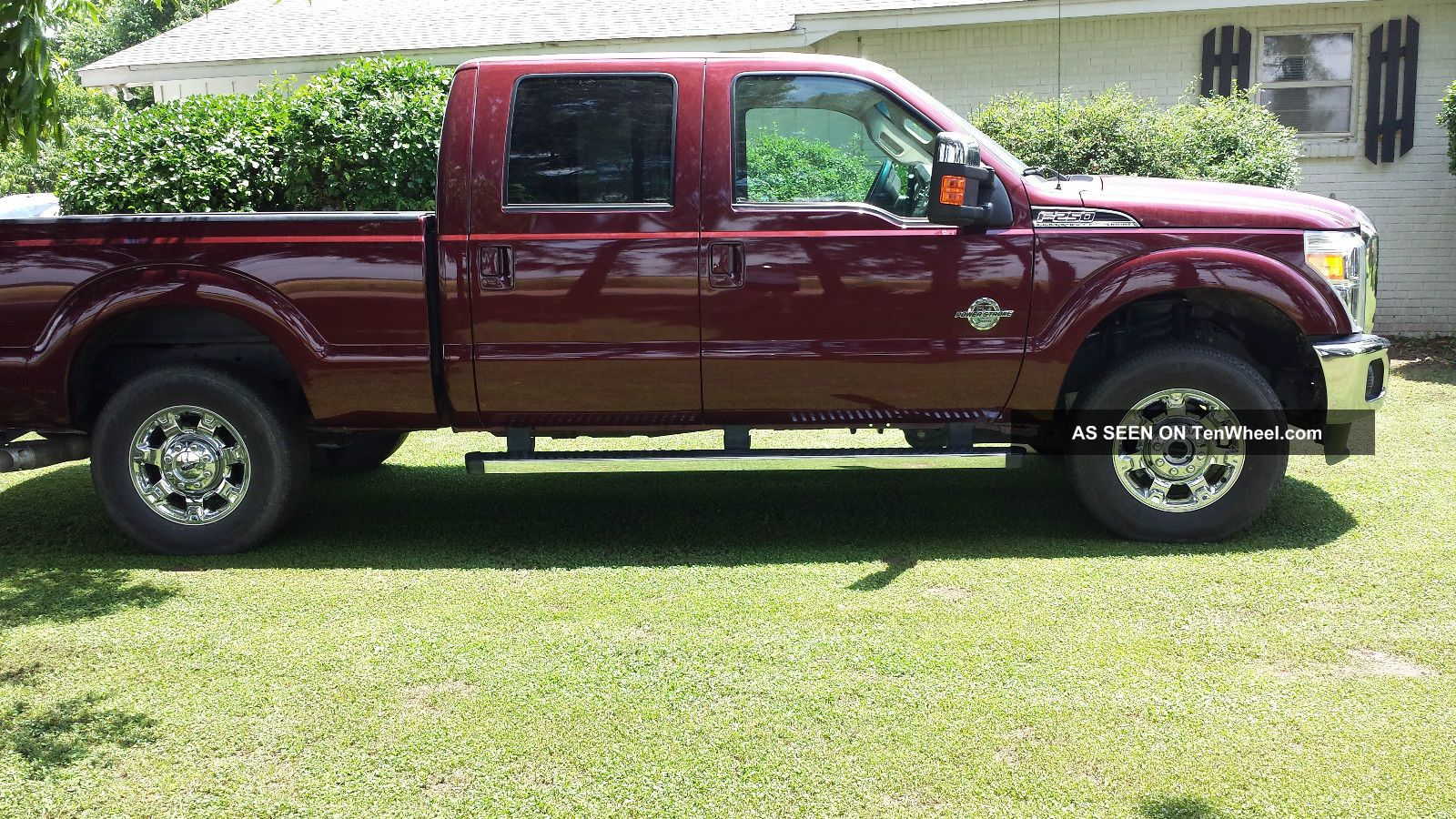 2012 ford f 250 lariat with power stroke turbo diesel 4x4. Black Bedroom Furniture Sets. Home Design Ideas