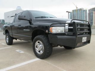 2004 Dodge Ram 2500 Diesel 4x4 Slt Laramie Ranch Style Bumpers Drives Excellent photo