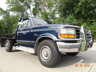 1993 Ford F250 1owner V8 Gas 5speed Manual Tx Norust Fifthwheel Drives Perfect photo