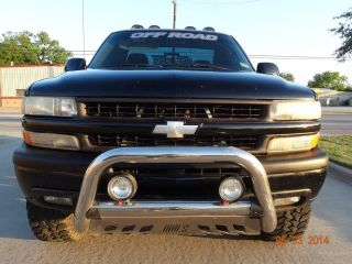 2000 Chevy Z71 4x4 Auto V8 5.  3l Vortec Lifted Custom Wheels Mudtires Vent Rotors photo