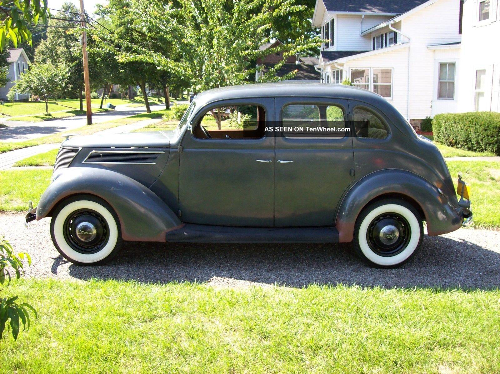 1937 Ford Standard Touring Fordor Sedan Flathead Ford