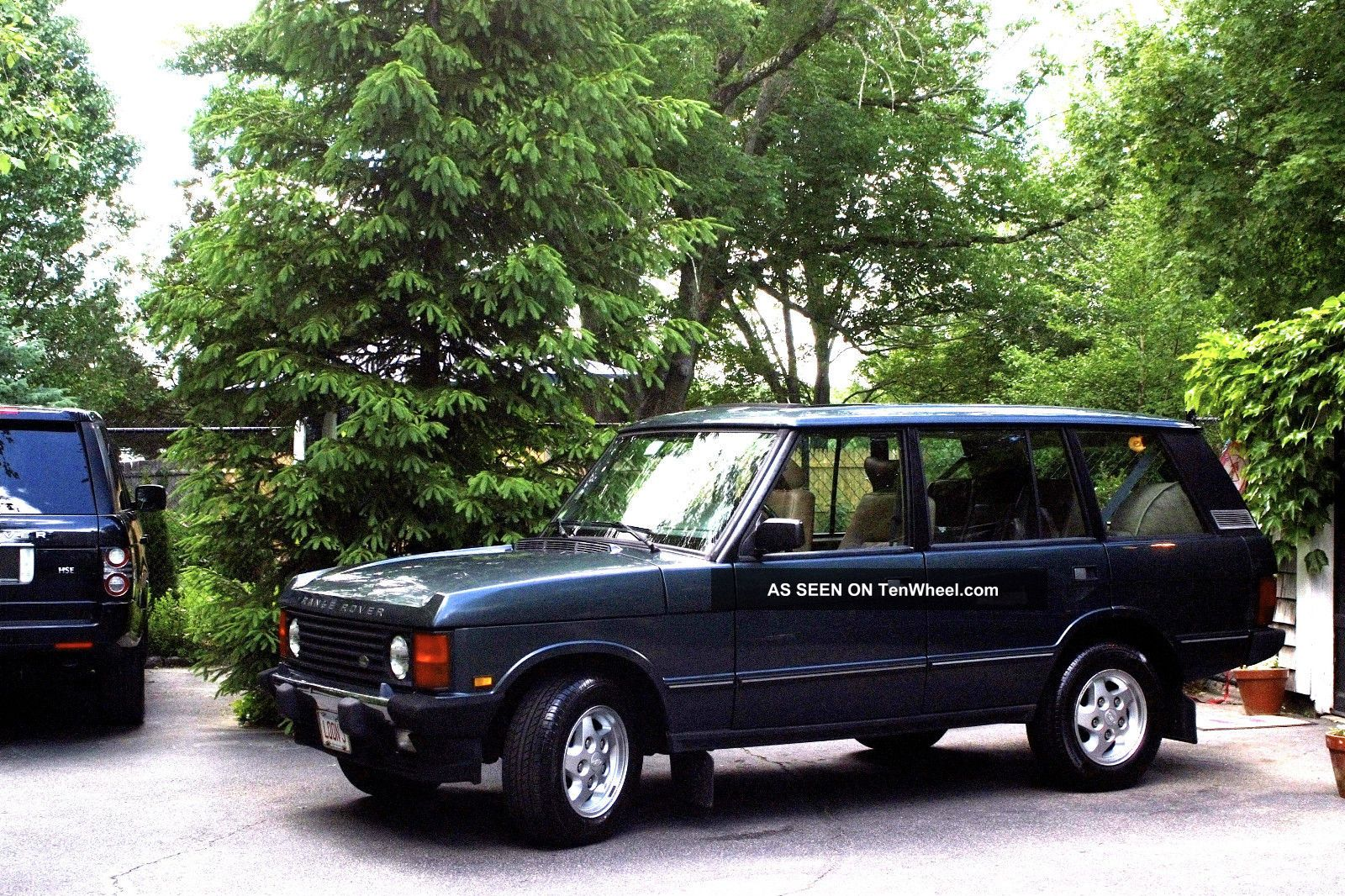 1995 Land Rover Range Rover County Lwb Sport Utility 4 - Door 4.  2l Range Rover photo