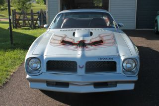 Sterling Silver,  1976 Trans Am.  Auto photo