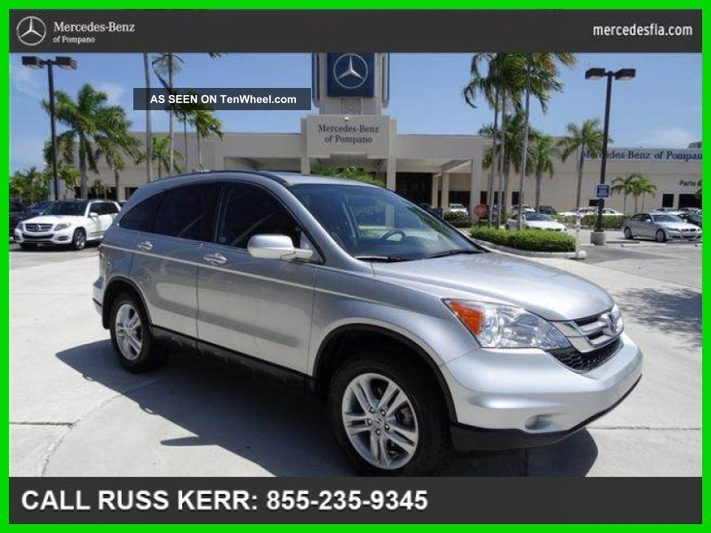 2011 Ex - L 2.  4l I4 16v Automatic Front Wheel Drive Navi Loaded CR-V photo