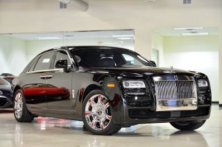 2012 Rolls Royce Ghost Ewb Sedan 4 - Door 6.  6l photo