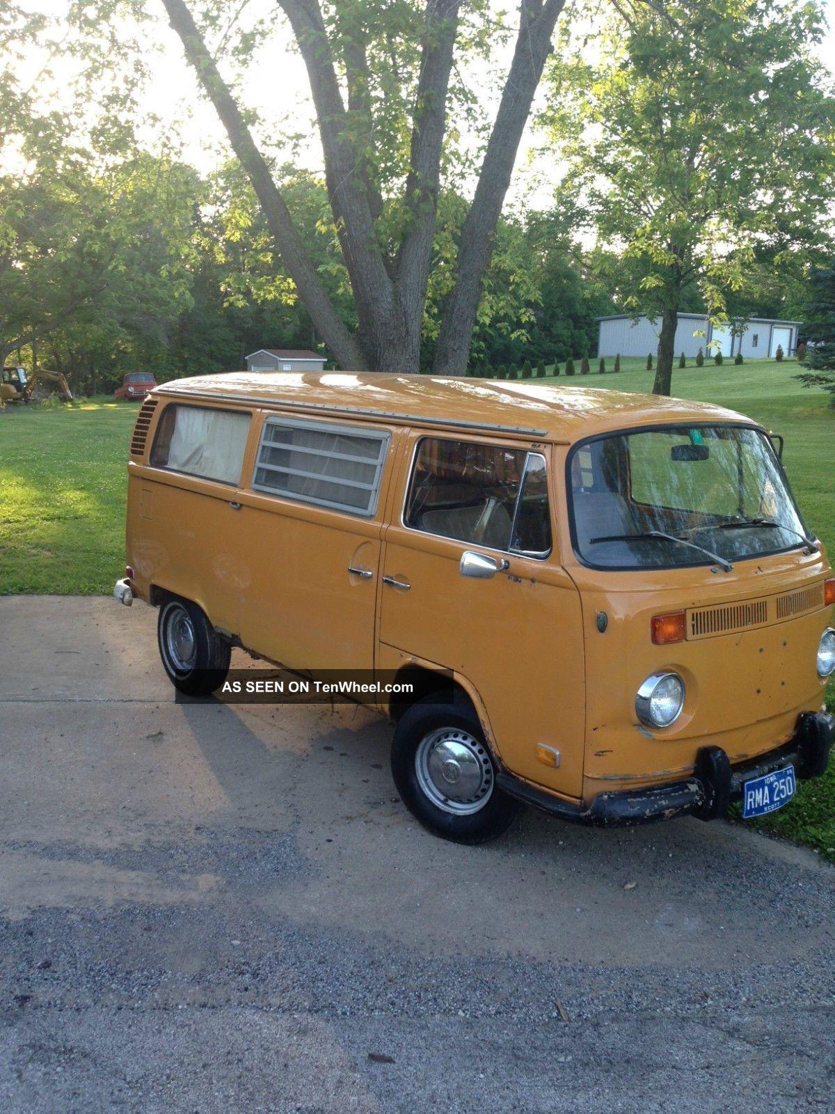 1972 Vw Westfalia Camper Van Weekender Dometic Fridge Volkswagen Sink Pancake Bus/Vanagon photo