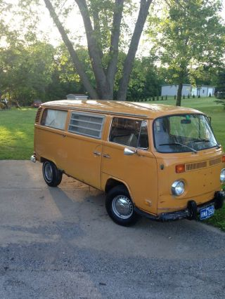 1972 Vw Westfalia Camper Van Weekender Dometic Fridge Volkswagen Sink Pancake photo