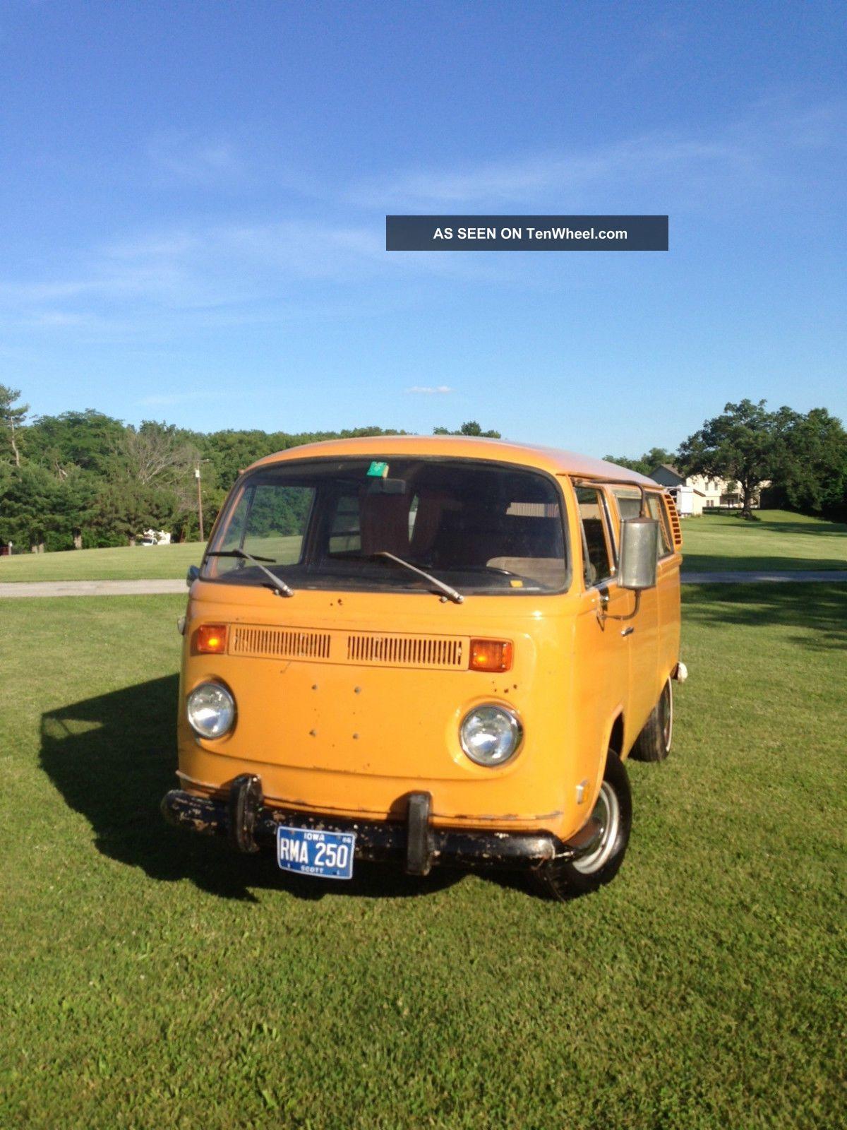 1972 Vw Westfalia Camper Van Weekender Dometic Fridge