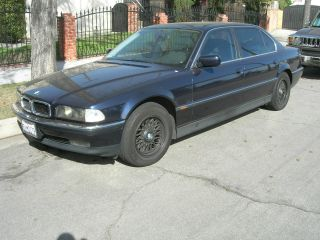 1997 Bmw 740il 4 Door Sedan Midnight Blue photo