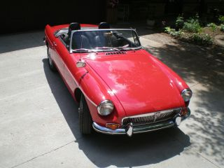 1969 Mg Mgb Base 1.  8l photo