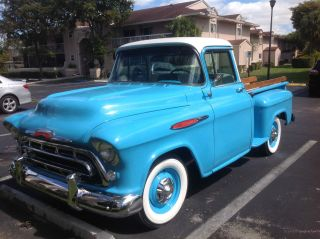 1957 Chevrolet Other Pickups 3100 Deluxe Big Window photo
