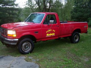 1997 Ford F250 Powerstroke Turbo Diesel 7.  3 4x4 Superduty photo