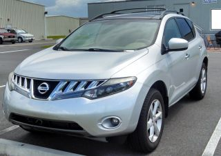 2009 Nissan Murano Sl 18  Wheels 80k photo