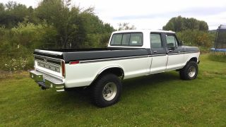 1976 F - 250 Crew Cab Long Box 4x4 With Orginal Canopy photo