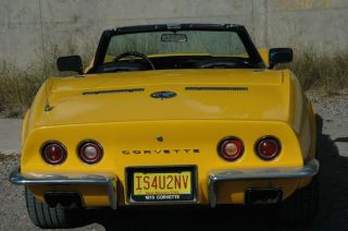 1973 L82 Corvette Convertible photo