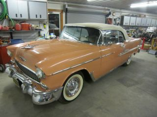 1955 Chevrolet Bel Air Base Convertible 2 - Door 4.  3l photo