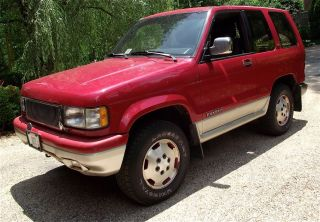 Rare 1993 Trooper Rs 2 - Door Off - Road Configuration photo