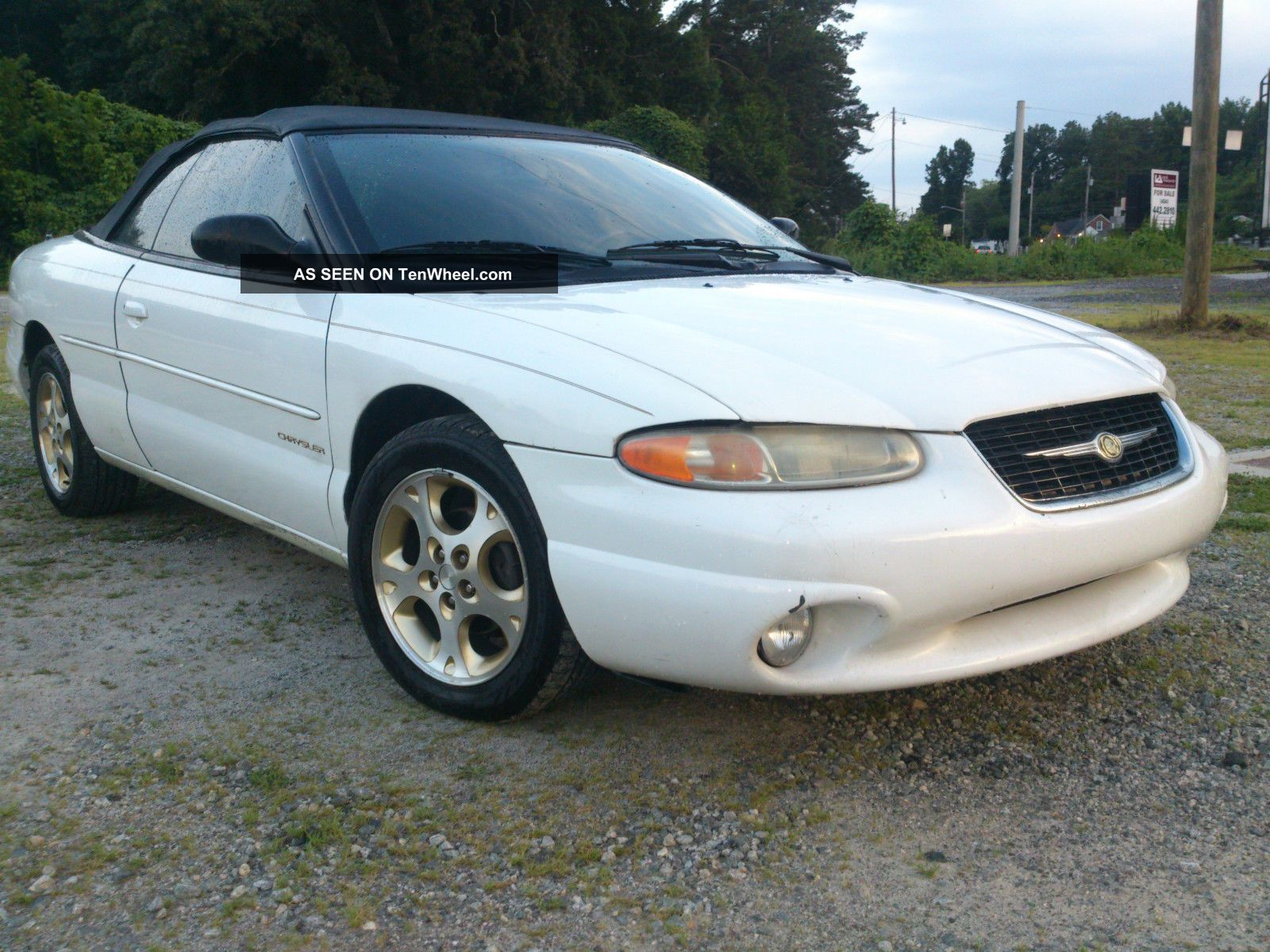 1999 chrysler sebring jxi convertable. Black Bedroom Furniture Sets. Home Design Ideas
