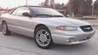 2000 Chrysler Sebring Jxi Convertible 2 - Door 2.  5l photo