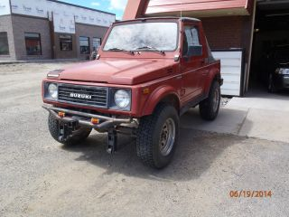 1988 Suzuki Samurai Jx Sport Utility 2 - Door 1.  3l photo