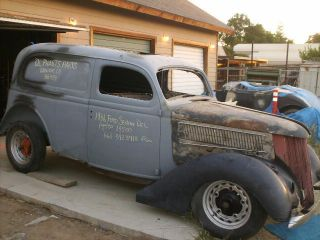 1936 Ford Sedan Delivery Project photo