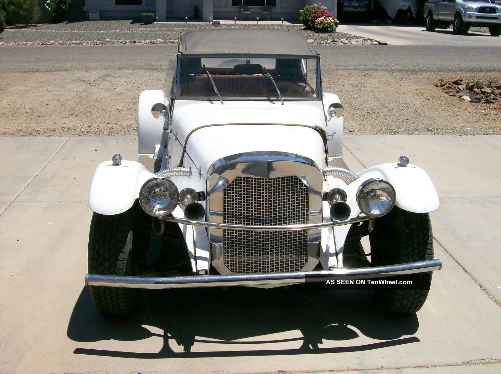 1981 Gazelle Kit Car Replica Of 1929 Mercedes Replica/Kit Makes photo