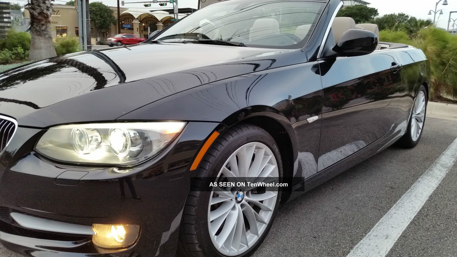 2011 Bmw 335i Convertible 3.  0l Twin Power Turbo 3-Series photo