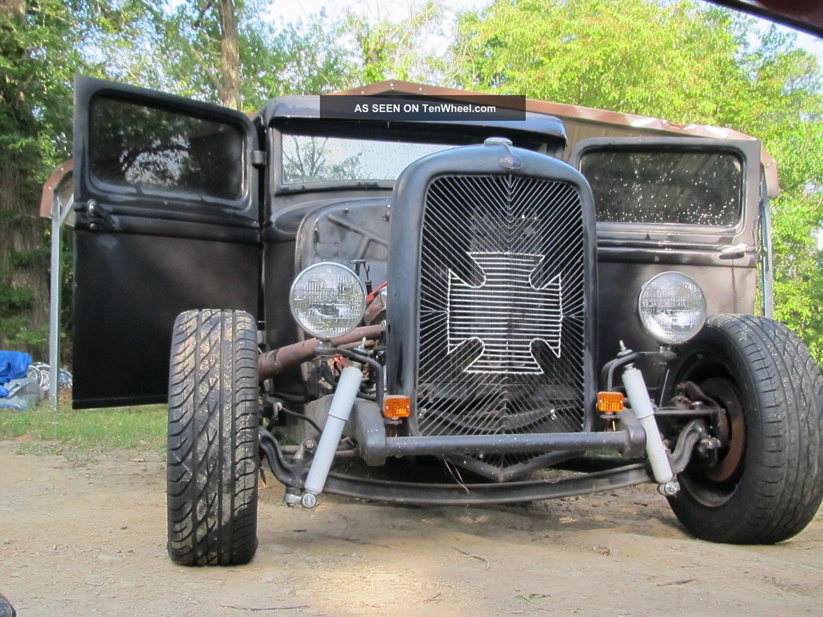 Ratrod Project Street 1933 Ford Hot Model A V8 Deuce Pickup Drag ...