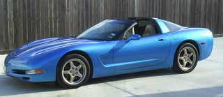2000 (c5) Chevrolet Corvette Coupe Nassau Blue Metallic photo