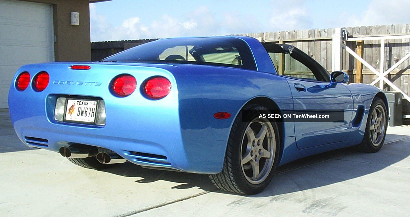 2000 C5 Chevrolet Corvette Coupe Nassau Blue Metallic