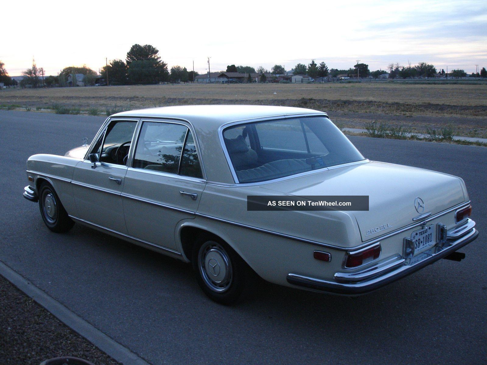 1970 mercedes 280 se 8 model w108. Black Bedroom Furniture Sets. Home Design Ideas