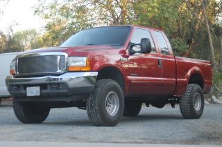 2001 Ford F - 250 Diesel 7.  3l Duty Xlt Extended Cab Pickup 4 - Door photo
