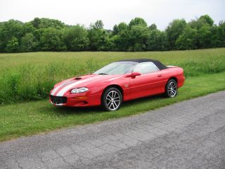 2002 Camaro Ss 35th Anniversary Convertible photo