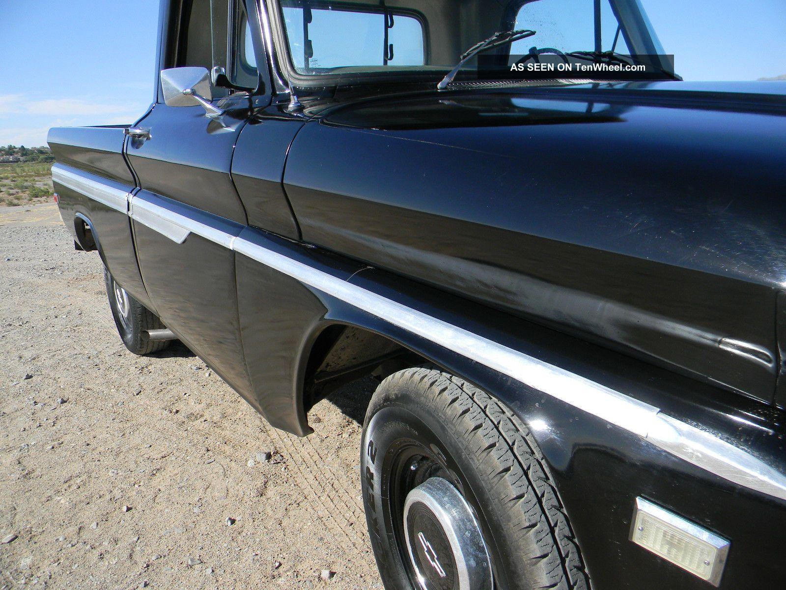 1966 Chevy C10 Truck Short Bed C14 V8 66 65 64 67 Hot Rod Rat Stepside Shortbed C 10