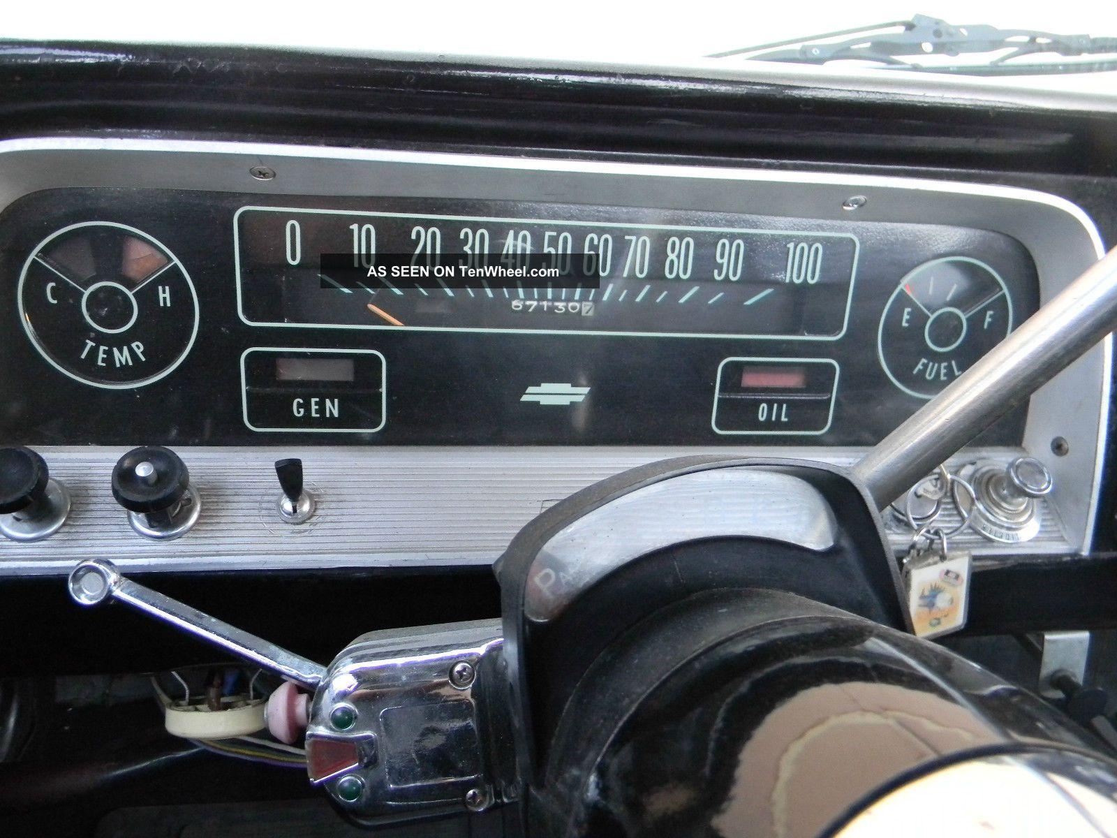 1966 Chevy C10 Truck Short Bed C14 V8 66 65 64 67 Hot Rod Rat Custom Shortbed C 10