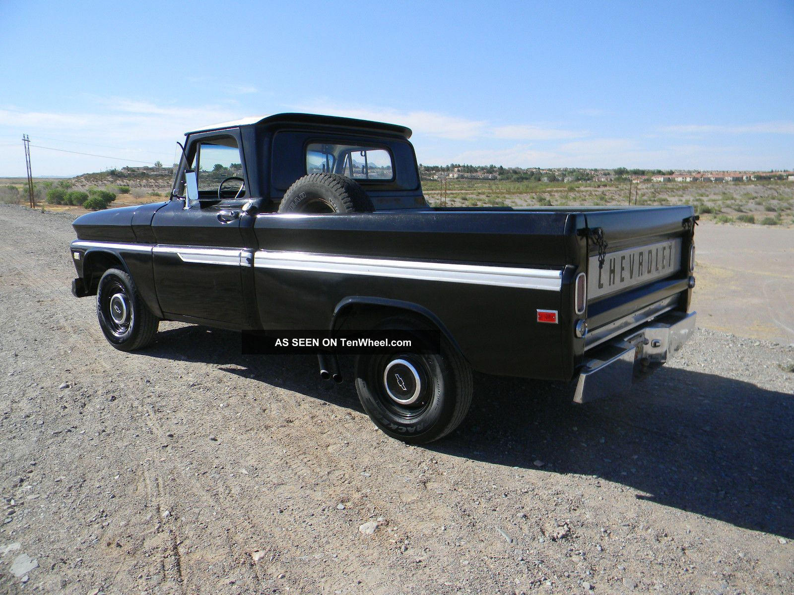 1966 Chevy C10 Truck Short Bed C14 V8 66 65 64 67 Hot Rod Rat Rod Shortbed  C - 10