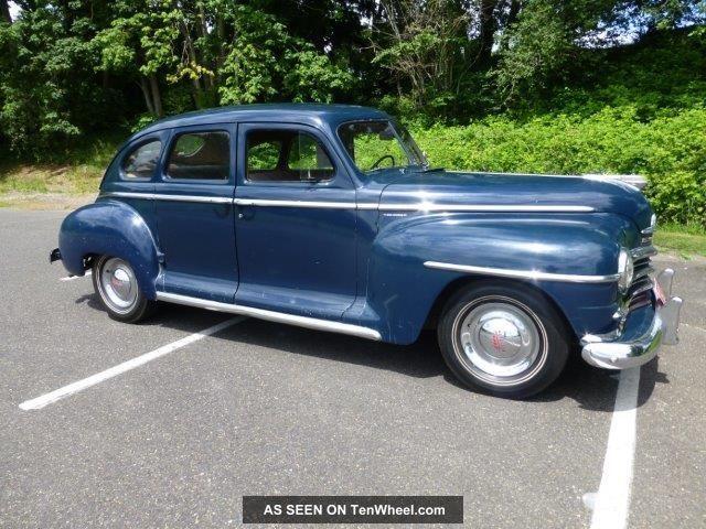 1948 plymouth deluxe 4d for 1948 plymouth 4 door sedan