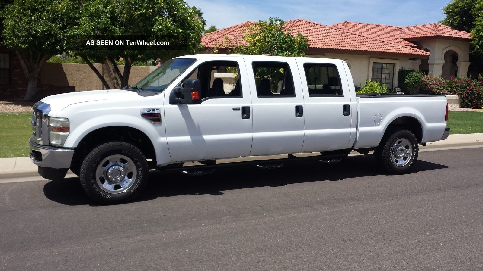 2009 Ford F350 Duty Custom 6 Door Conversion