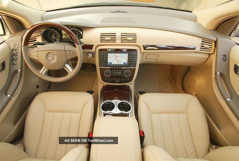2006 Mercedes R500 Awd 7 Pass Panoroof Alloys
